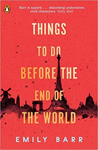 Cover of Things to do Before the End of the World by Emily Barr