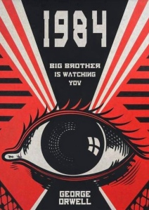Cover of Nineteen Eighty-Four by George Orwell
