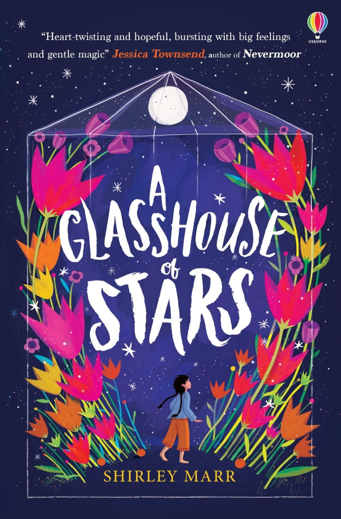 Cover of A Glasshouse of Stars by Shirley Marr