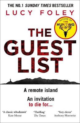 Cover of The Guest List by Lucy Foley