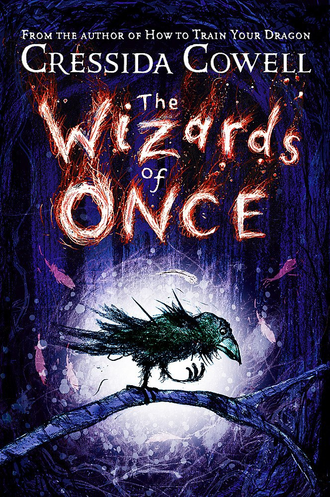 The picture is of the book cover of The Wizards of Once by Cressida Cowell