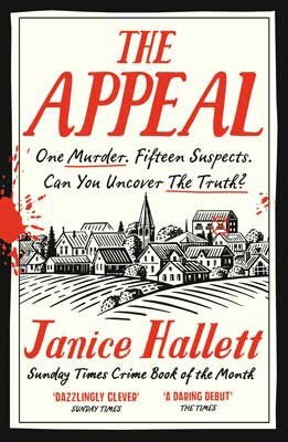 The picture shows the front cover of The Appeal by Janice Hallett