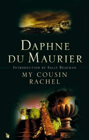 The picture shows the book cover of My Cousin Rachel by Daphne Du Marier