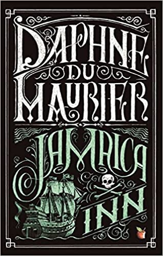 The picture shows the front cover of 'Jamaica Inn' by Daphne du Maurier