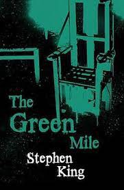 The picture shows the cover of The Green Mile by Stephen King