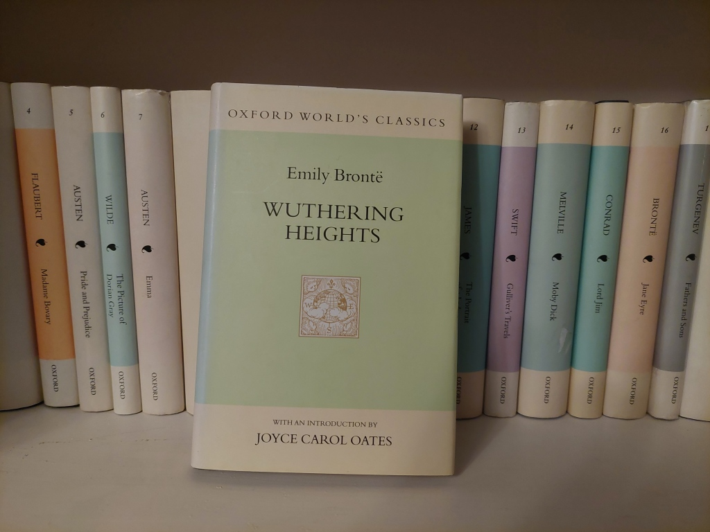 'Wuthering Heights' by Emily Bronte