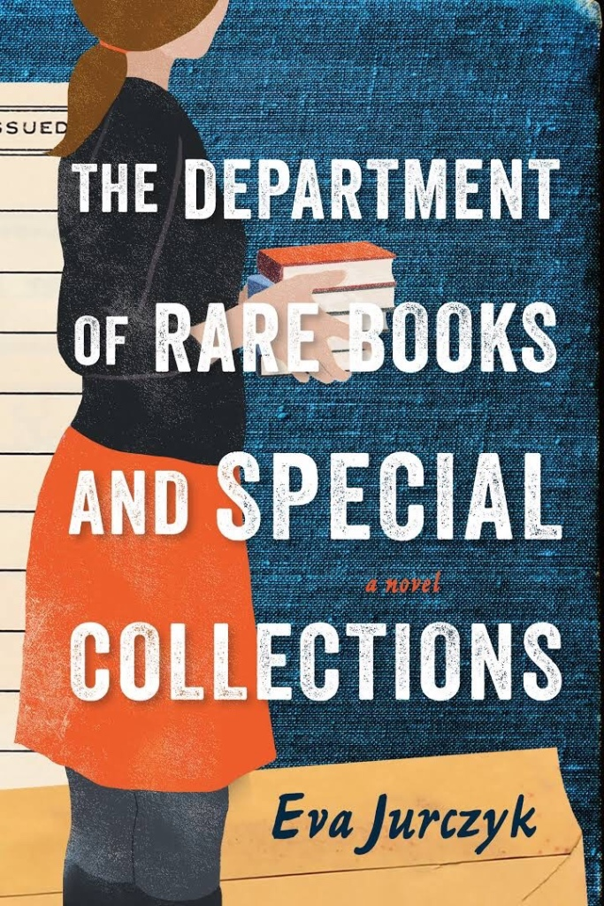The image is of the front cover of The Department of Rare Books and Special Collections by Eva Jurczyk